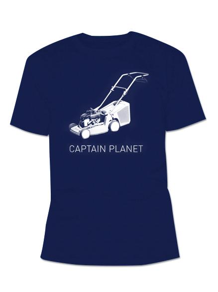 Shirt Rasenmaeher Navy